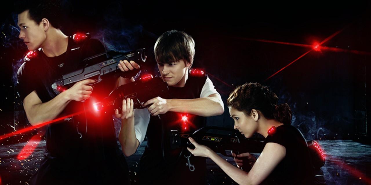 Vyrazte s přáteli do akce na laser game