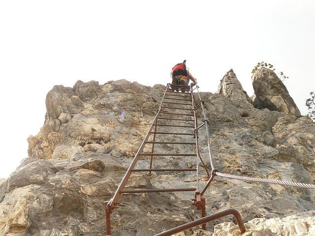 žebřík na horu