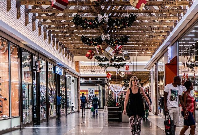 Vánoce a nákupy